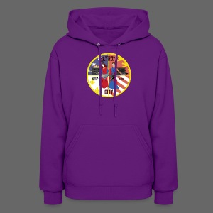Detroit Rockin City Seal - Women's Hoodie