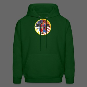 Detroit Rockin City Seal - Men's Hoodie