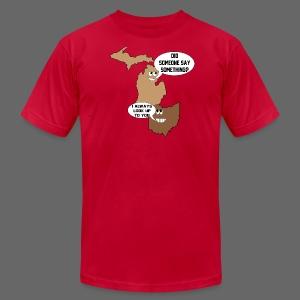 Michigan Goofin With Ohio - Men's Fine Jersey T-Shirt