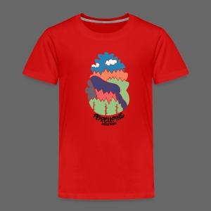Porcupine Mountains Name - Toddler Premium T-Shirt