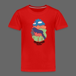 Porcupine Mountains Name - Toddler Premium T-Shirt