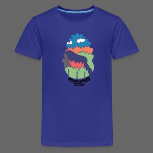Porcupine Mountains Name - Kids' Premium T-Shirt