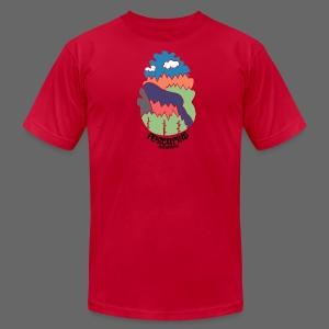 Porcupine Mountains Name - Men's Fine Jersey T-Shirt