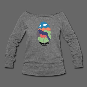 Porcupine Mountains Name - Women's Wideneck Sweatshirt