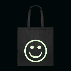 Glow in the Dark Smiley - Tote Bag