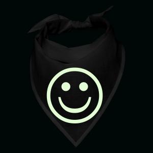 Glow in the Dark Smiley - Bandana