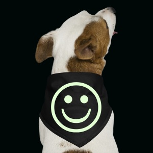 Glow in the Dark Smiley - Dog Bandana