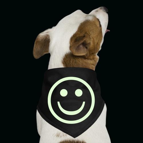 Glow in the Dark Smiley - Dog Bandana