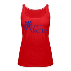 Rep Yo Hood: Cali: Los Angeles, City of Angels - Women's Premium Tank Top