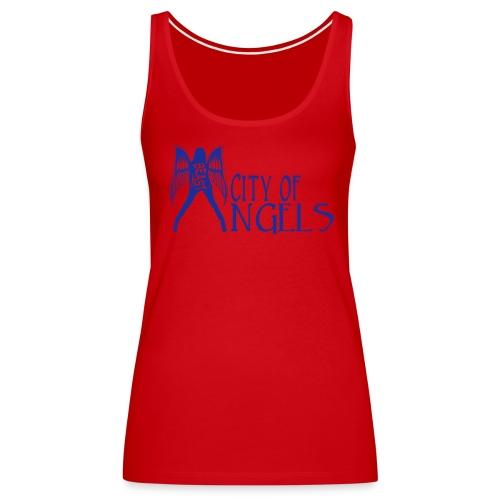 Rep Yo Hood: Cali: Los Angeles, City of Angels - Women's Premium Tank Top