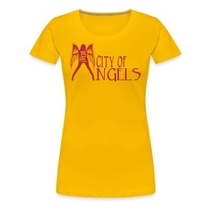 Rep Yo Hood: Cali: Los Angeles, City of Angels - Women's Premium T-Shirt
