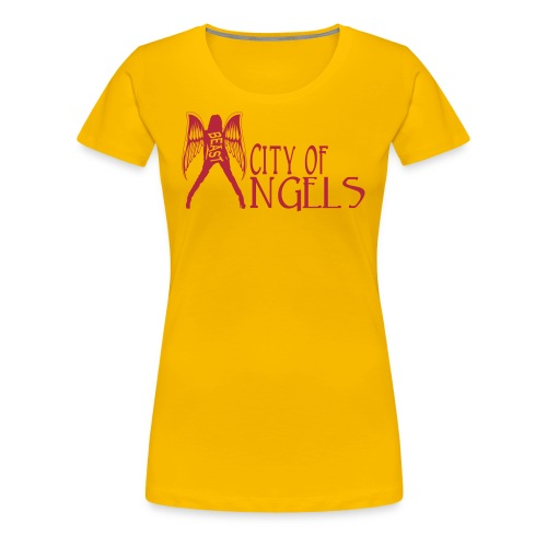 Rep Yo Hood: Cali: Los Angeles, City of Angels - Women's Premium T-Shirt