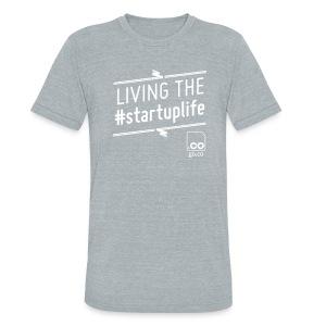 Startuplife Tshirt - Men's Vintage - Unisex Tri-Blend T-Shirt