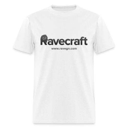Men's White Rave Shirt - Men's T-Shirt