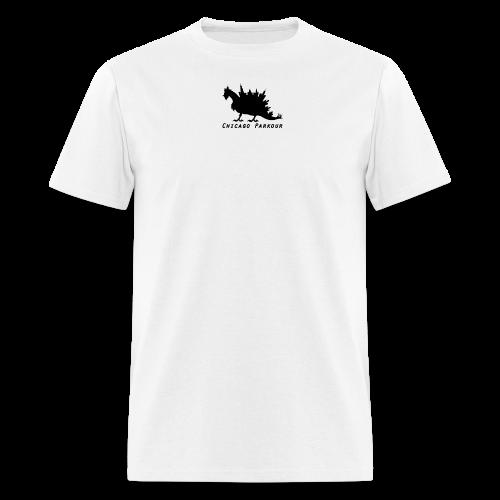 Stegocobo Small (Black) - Men's T-Shirt