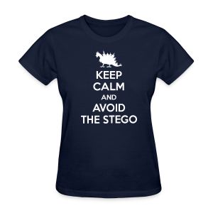 Keep Calm (white) - Women's T-Shirt