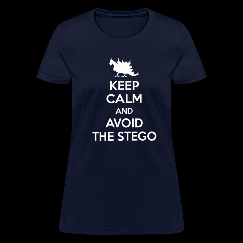 Keep Calm (white) - Women's T-Shirt