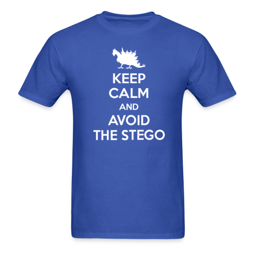 Keep Calm (white) - Men's T-Shirt
