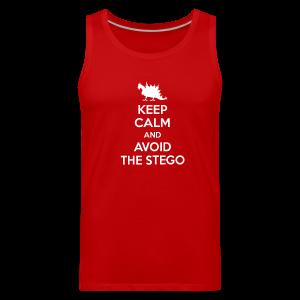 Keep Calm (white) - Men's Premium Tank