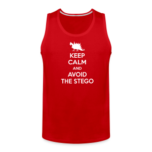 Keep Calm (white) - Men's Premium Tank