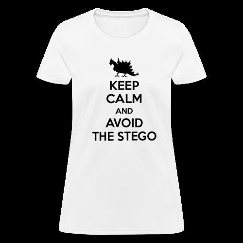 Keep Calm (black) - Women's T-Shirt