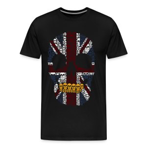 The British Skeleton - Men's Premium T-Shirt