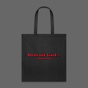 Detroit - Michigan Tote Bag - Tote Bag
