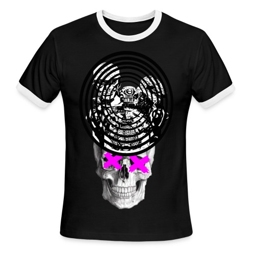 SGT DEATH RINGER (for the bros) - Men's Ringer T-Shirt