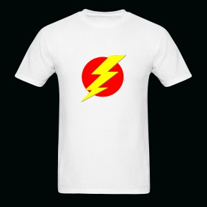 Flash Red Yellow - Men's T-Shirt