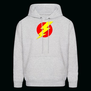 Flash Red Yellow - Men's Hoodie