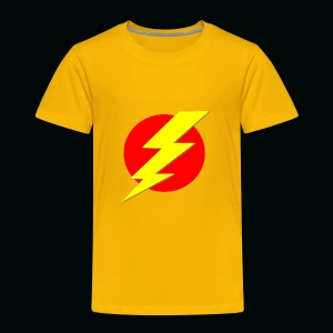 Flash Red Yellow - Toddler Premium T-Shirt