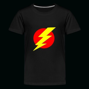 Flash Red Yellow - Kids' Premium T-Shirt