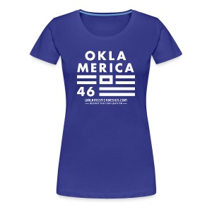 WDC-OklaMerica-Ladies - Women's Premium T-Shirt