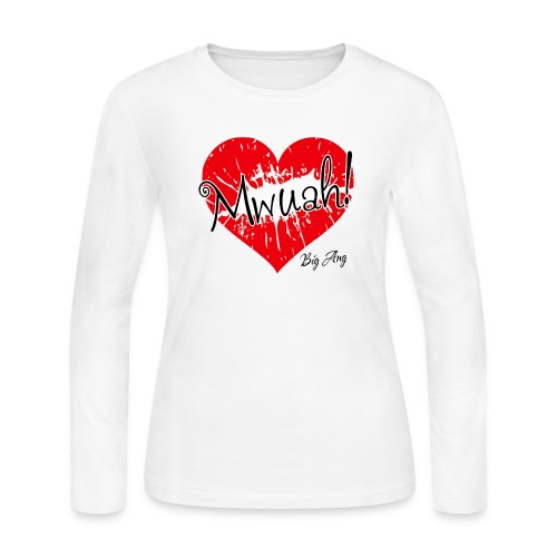 Mwuah! - Women's Long Sleeve Jersey T-Shirt