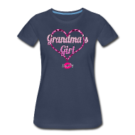 T-Shirts ~ Women's Premium T-Shirt ~ Grandma's Girl