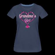 Women's T-Shirts ~ Women's Premium T-Shirt ~ Grandma's Girl