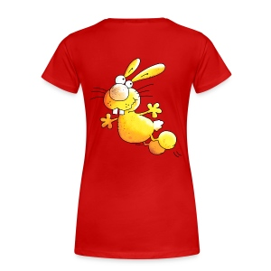Crazy Rabbit - Bunnie Women's T-Shirts - Women's Premium T-Shirt