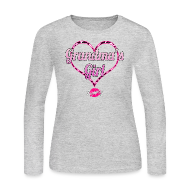 Long Sleeve Shirts ~ Women's Long Sleeve Jersey T-Shirt ~ Grandma's Girl