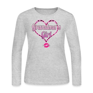 Grandma's Girl - Women's Long Sleeve Jersey T-Shirt