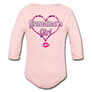 Baby Bodysuits ~ Baby Long Sleeve One Piece ~ Grandma's Girl
