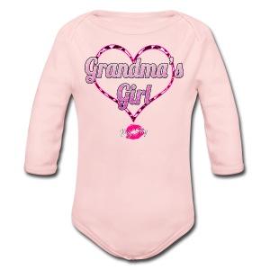 Grandma's Girl - Long Sleeve Baby Bodysuit