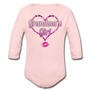 Grandma's Girl - Long Sleeve Baby Bodysuit