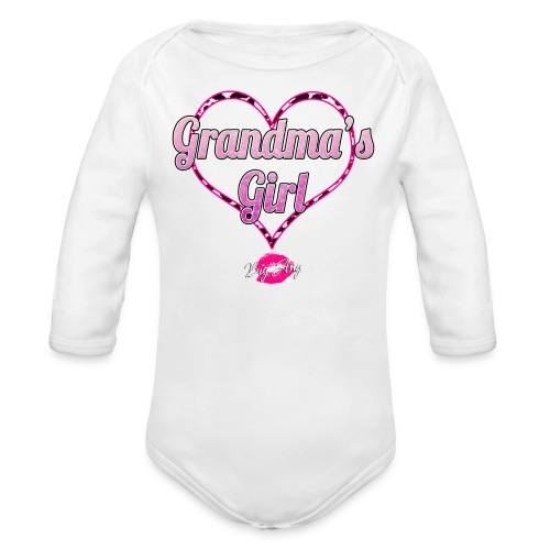 Grandma's Girl - Organic Long Sleeve Baby Bodysuit