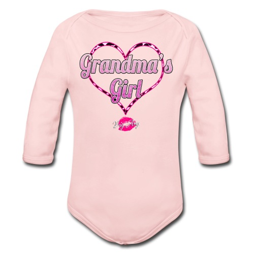 Grandma's Girl - Organic Long Sleeve Baby Bodysuit