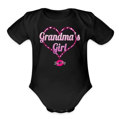 Grandma's Girl - Organic Short Sleeve Baby Bodysuit