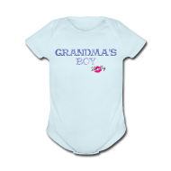 Baby Bodysuits ~ Baby Short Sleeve One Piece ~ Grandma's Boy