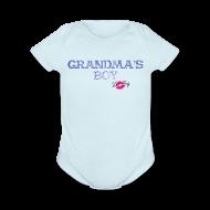 Baby Bodysuits ~ Baby Short Sleeve One Piece ~ Grandma's Boy