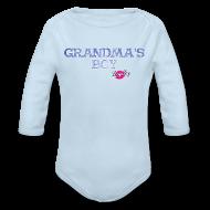 Baby Bodysuits ~ Baby Long Sleeve One Piece ~ Grandma's Boy