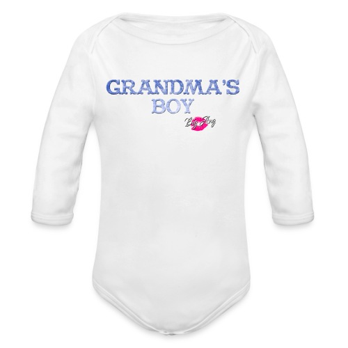 Grandma's Boy - Organic Long Sleeve Baby Bodysuit