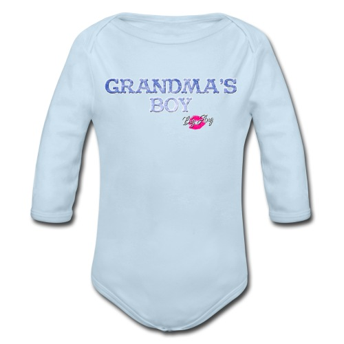 Grandma's Boy - Organic Long Sleeve Baby Bodysuit